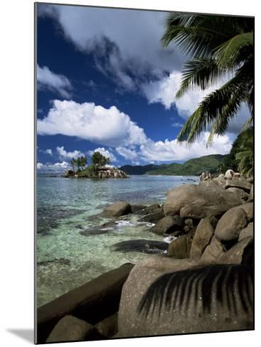 Coast, Island of Mahe, Seychelles, Indian Ocean, Africa-R H Productions-Mounted Photographic Print