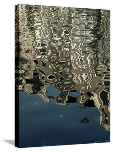 Canals, Amsterdam, Holland-Adam Woolfitt-Stretched Canvas Print