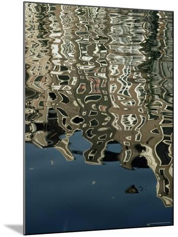 Canals, Amsterdam, Holland-Adam Woolfitt-Mounted Photographic Print