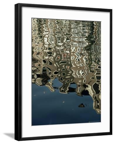 Canals, Amsterdam, Holland-Adam Woolfitt-Framed Art Print