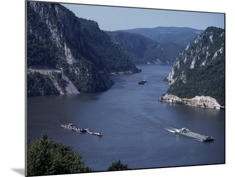 Iron Gates Area of the River Danube (Dunav), Serbia-Adam Woolfitt-Mounted Photographic Print