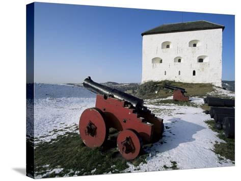 Kristiansen Fortress, Trondheim, Norway, Scandinavia-Adam Woolfitt-Stretched Canvas Print