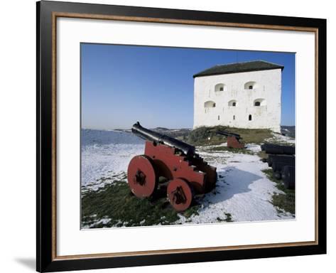 Kristiansen Fortress, Trondheim, Norway, Scandinavia-Adam Woolfitt-Framed Art Print