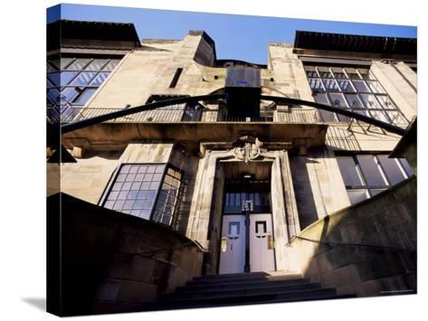 Glasgow School of Art, Designed by Charles Rennie Mackintosh, Glasgow, Scotland-Adam Woolfitt-Stretched Canvas Print