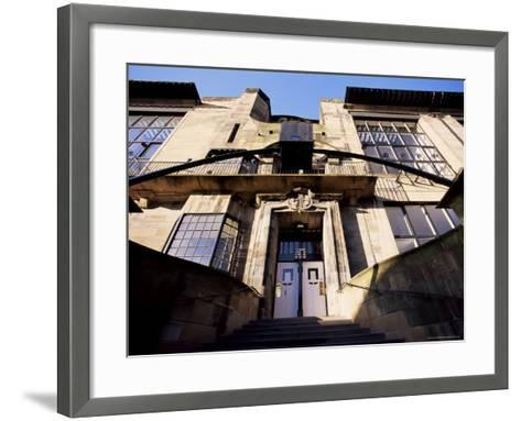 Glasgow School of Art, Designed by Charles Rennie Mackintosh, Glasgow, Scotland-Adam Woolfitt-Framed Art Print