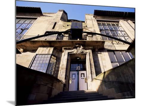 Glasgow School of Art, Designed by Charles Rennie Mackintosh, Glasgow, Scotland-Adam Woolfitt-Mounted Photographic Print
