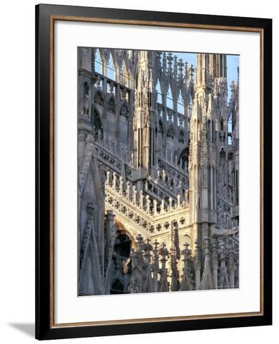 Milan Cathedral, Milan, Lombardy, Italy-Adam Woolfitt-Framed Art Print