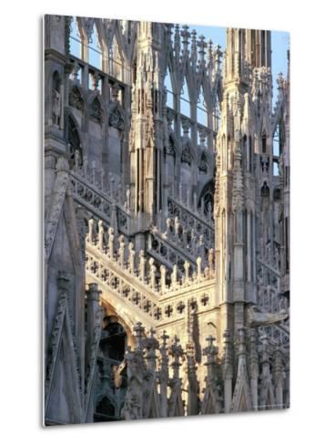 Milan Cathedral, Milan, Lombardy, Italy-Adam Woolfitt-Metal Print