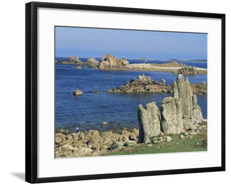 St. Agnes, Isles of Scilly, United Kingdom-Adam Woolfitt-Framed Art Print