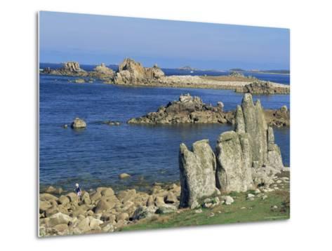 St. Agnes, Isles of Scilly, United Kingdom-Adam Woolfitt-Metal Print