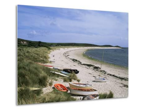 Higher Town Bay, St. Martin's, Isles of Scilly, United Kingdom-Adam Woolfitt-Metal Print
