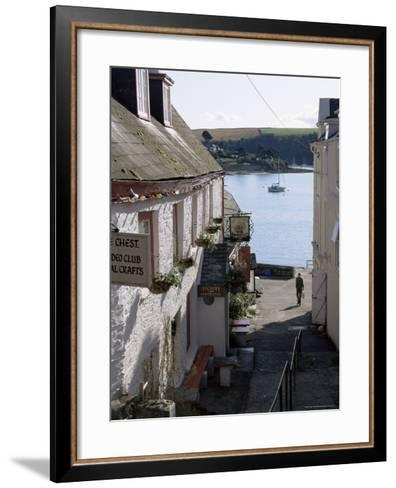 Falmouth Harbour, Cornwall, England, United Kingdom-Adam Woolfitt-Framed Art Print