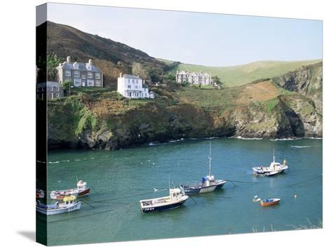 Port Isaac, Cornwall, England, United Kingdom-Adam Woolfitt-Stretched Canvas Print