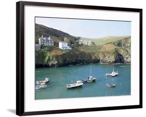 Port Isaac, Cornwall, England, United Kingdom-Adam Woolfitt-Framed Art Print