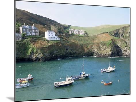 Port Isaac, Cornwall, England, United Kingdom-Adam Woolfitt-Mounted Photographic Print