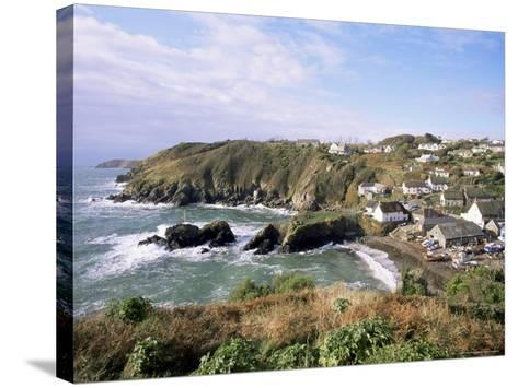 Cadgwith Harbour and Village, Cornwall, England, United Kingdom-Adam Woolfitt-Stretched Canvas Print