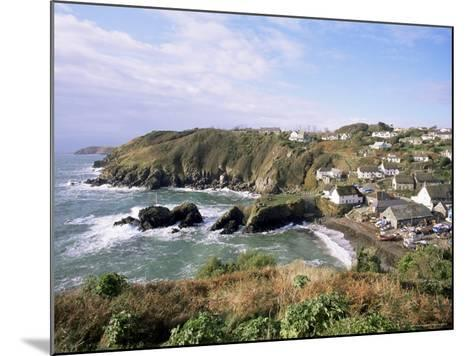 Cadgwith Harbour and Village, Cornwall, England, United Kingdom-Adam Woolfitt-Mounted Photographic Print