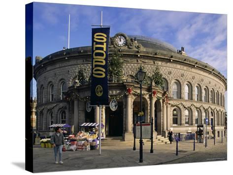 The Corn Exchange, Leeds, Yorkshire, England, United Kingdom-Adam Woolfitt-Stretched Canvas Print