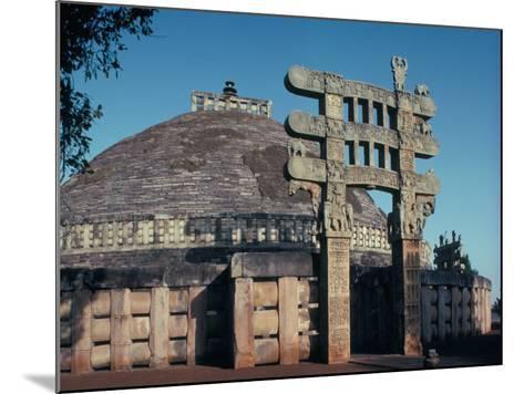 The East Gateway, Great Stupa, Sanchi, Unesco World Heritage Site, Bhopal, India-Adam Woolfitt-Mounted Photographic Print