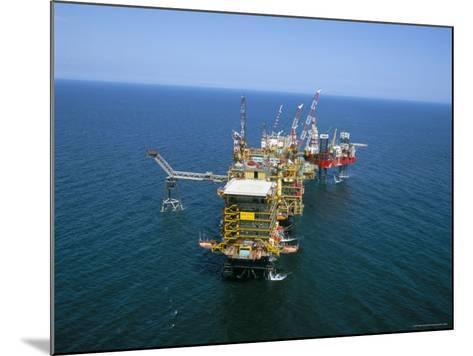 Morecombe Bay Gas Field, England, United Kingdom-Nick Wood-Mounted Photographic Print