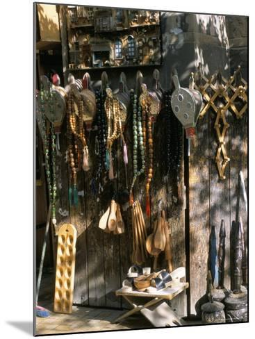 Bellows and Coffee Grinders for Sale at Souq Al-Hamidiyya, Damascus, Syria-Alison Wright-Mounted Photographic Print