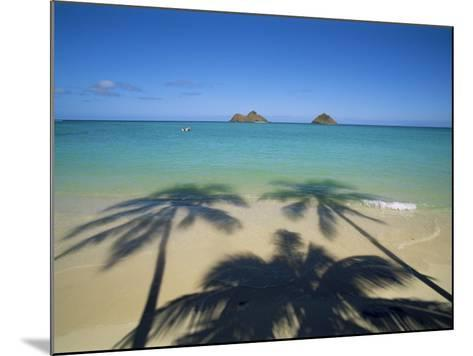 Lanikai Beach, Oahu, Hawaii, Hawaiian Islands, USA--Mounted Photographic Print