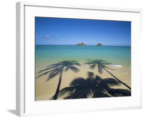 Lanikai Beach, Oahu, Hawaii, Hawaiian Islands, USA--Framed Art Print