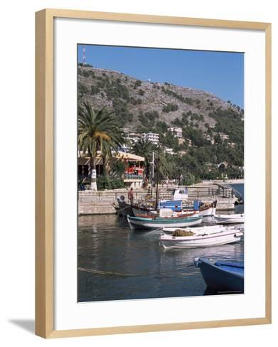 Saranda, Albania-R H Productions-Framed Art Print