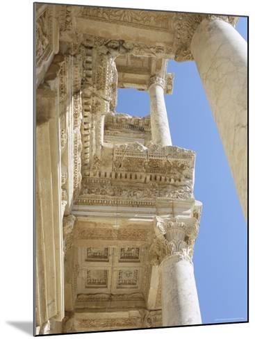 Reconstructed Library of Celsus, Archaeological Site, Ephesus, Anatolia, Turkey-R H Productions-Mounted Photographic Print