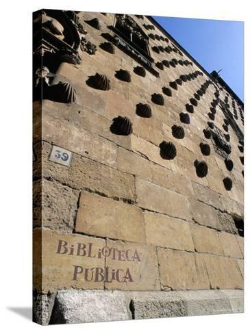 Casa De Las Conchas (House of Shells), Salamanca, Spain-R H Productions-Stretched Canvas Print