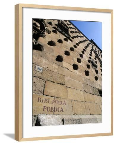 Casa De Las Conchas (House of Shells), Salamanca, Spain-R H Productions-Framed Art Print