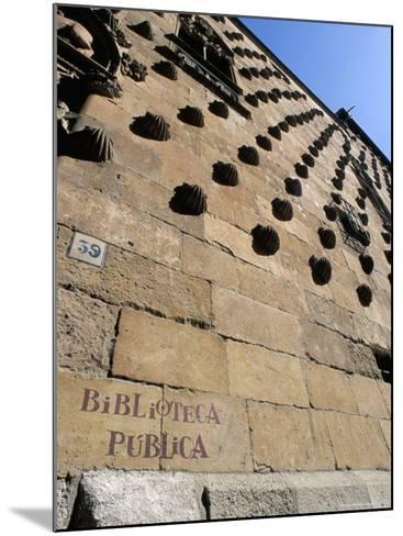 Casa De Las Conchas (House of Shells), Salamanca, Spain-R H Productions-Mounted Photographic Print