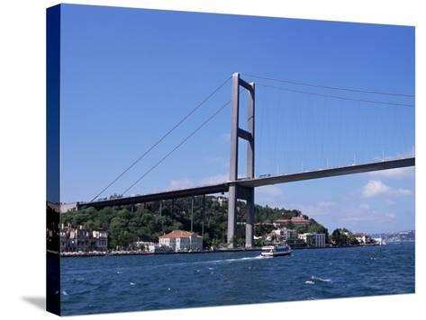 The Bosphorus Bridge, Istanbul, Turkey-R H Productions-Stretched Canvas Print