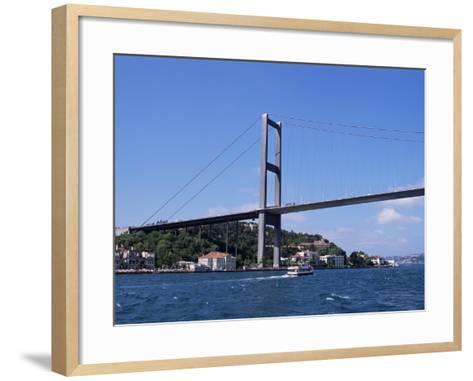 The Bosphorus Bridge, Istanbul, Turkey-R H Productions-Framed Art Print