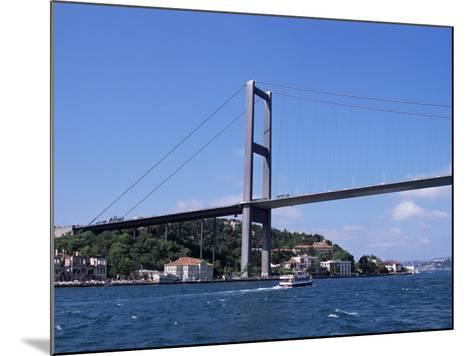 The Bosphorus Bridge, Istanbul, Turkey-R H Productions-Mounted Photographic Print