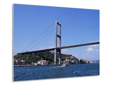 The Bosphorus Bridge, Istanbul, Turkey-R H Productions-Metal Print