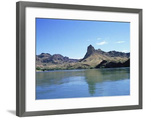 Colorado River Near Parker, Arizona, USA-R H Productions-Framed Art Print