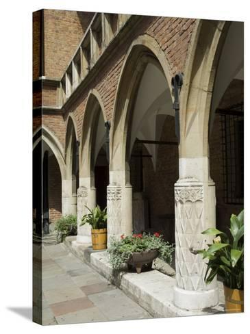 The Collegium Maius Museum of the Jagiellonian University-R H Productions-Stretched Canvas Print