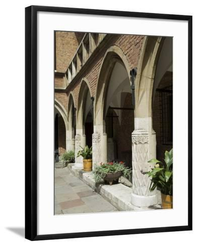 The Collegium Maius Museum of the Jagiellonian University-R H Productions-Framed Art Print