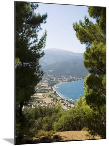 View from Top of Hill Near Sami, Kefalonia (Cephalonia), Ionian Islands, Greece-R H Productions-Mounted Photographic Print