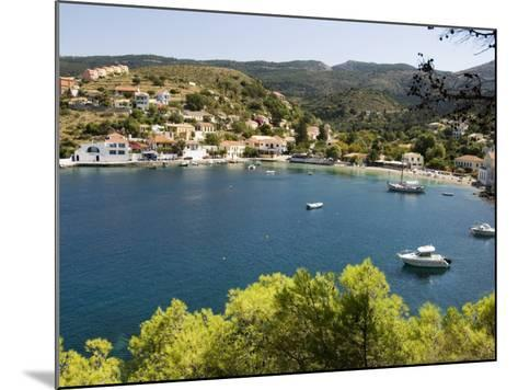 Assos, Kefalonia (Cephalonia), Ionian Islands, Greece-R H Productions-Mounted Photographic Print