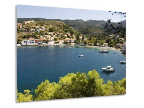 Assos, Kefalonia (Cephalonia), Ionian Islands, Greece-R H Productions-Metal Print
