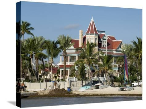 Southernmost House (Mansion) Hotel and Museum, Key West, Florida, USA-R H Productions-Stretched Canvas Print