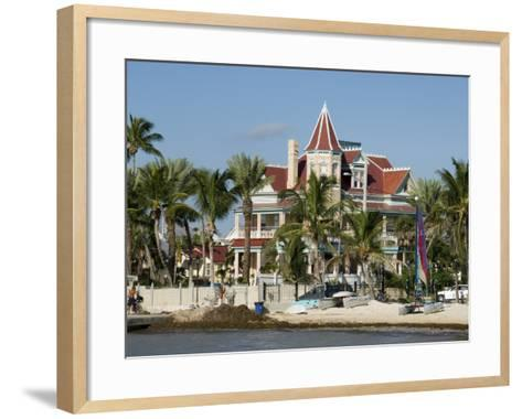 Southernmost House (Mansion) Hotel and Museum, Key West, Florida, USA-R H Productions-Framed Art Print