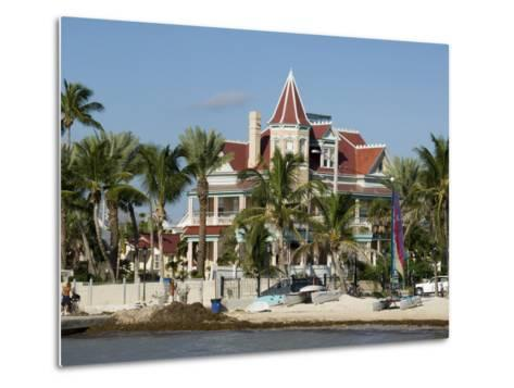 Southernmost House (Mansion) Hotel and Museum, Key West, Florida, USA-R H Productions-Metal Print