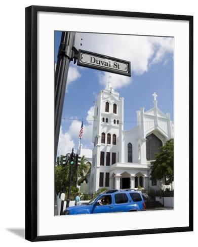 Duval Street, Key West, Florida, USA-R H Productions-Framed Art Print