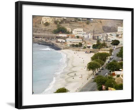 Mindelo, Sao Vicente, Cape Verde Islands, Africa-R H Productions-Framed Art Print