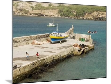Port at Tarrafal, Santiago, Cape Verde Islands, Africa-R H Productions-Mounted Photographic Print