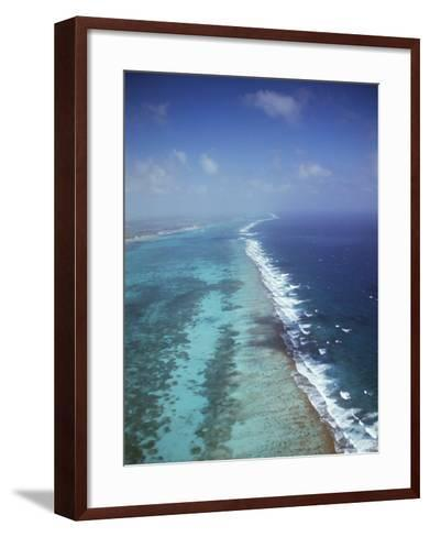 Ambergris Cay, Near San Pedro, the Second Longest Reef in the World, Belize, Central America-Upperhall-Framed Art Print