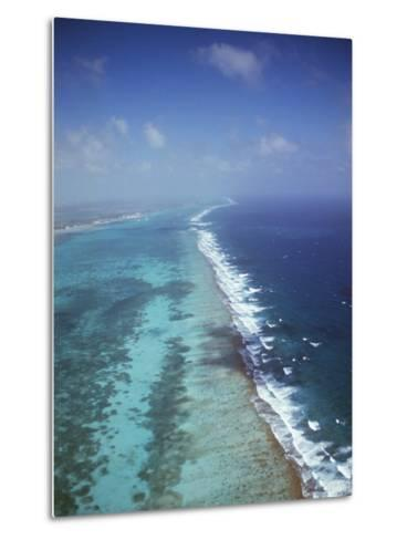 Ambergris Cay, Near San Pedro, the Second Longest Reef in the World, Belize, Central America-Upperhall-Metal Print